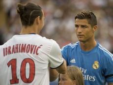 Ibrahimovic commenta il trasferimento di Ronaldo. Twitter