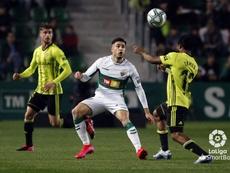 El Zaragoza venció en el Martínez Valero. LaLiga