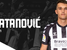 Igor Zlatanovic, nuevo jugador del Castellón. Twitter/CD_Castellon