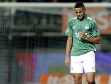 Ihattaren marcó el segundo tanto del partido. Twitter/PSV