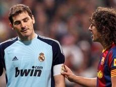 Casillas e Puyol debatem sobre os guarda-redes da LaLiga. EFE