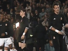 Casillas, César y la guerra por la portería en 2002. Captura/Twitter/MovistarFutbol