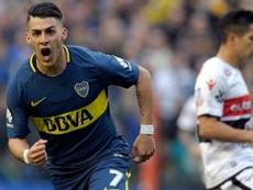 Cristian Pavón podría desvincularse definitivamente de Boca. EFE/Archivo