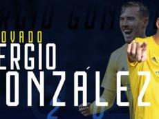 El Cádiz anunció la renovación de Sergio González. Twitter/Cadiz_CF