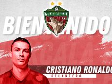 A Cristiano le ofrecieron fichar por un equipo de México. Coyotes_Oficial