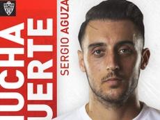 Aguza firma hasta final de temporada con la Ponferradina. Twitter/UDAlmería