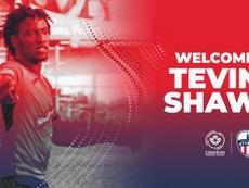 Tevin Shaw ha reforzado a la filial canadiense del Atleti. Twitter/atletiOttawa