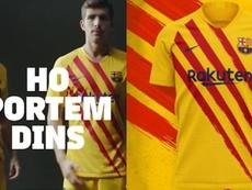 Vicky y Losada presentaron la cuarta camiseta del Barça. FCBarcelona
