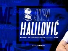 Halilovic s'engage avec Birmingham. BCFC