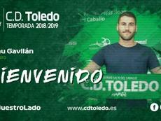 El sevillano llega procedente del Guijuelo. Twitter/CD_Toledo