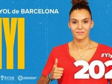 Yiyi reforzará al Espanyol hasta 2021. Twitter/RCDEFemeni