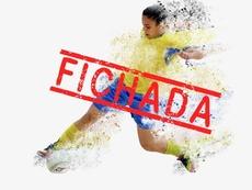 Leire será la primera brasileña que juegue para el Preconte Telde. TeldeportivoFutbolSala