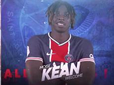 Moise Kean in prestito al PSG. PSGInside