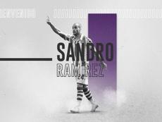 Sandro Ramirez will be at Valladolid on loan next season. Twitter/realvalladolid