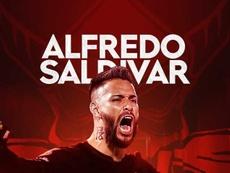 Saldívar ya es nuevo jugador de Toluca. Twitter/TolucaFC