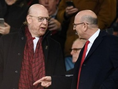 Kevin Glazer quiere vender sus acciones del United, unas 24,6 millones. AFP