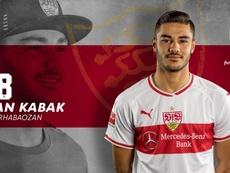 Kabak dans le viseur de l'Atlético. Twitter/VFB