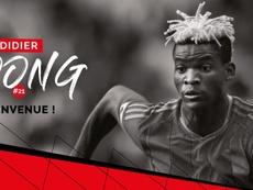 El gabonés busca relanzar su carrera en Francia. Guingamp