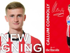 Connolly, cedido al Lincoln City. LincolnCity
