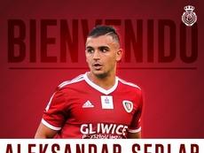 Sedlar, nuevo jugador del Mallorca. Twitter/RCDMallorca