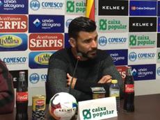 Braulio admitió que no está siendo una buena temporada. CD_Alcoyano