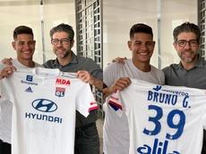 El Lyon le pide a su presidente que anuncie a Guimaraes. OlympiqueLyon