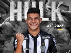 Carlos Gabriel Moreira de Oliveira, el 'nuevo Hulk' de Brasil. Twitter/Atletico_MG