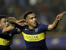 Tévez respondió a las recientes críticas por los arbitrajes. Twitter/BocaJrsOficial