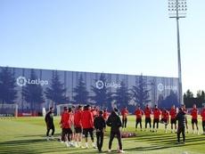 Riquelme, gran novedad en la convocatoria del Atlético. Twitter/Atleti