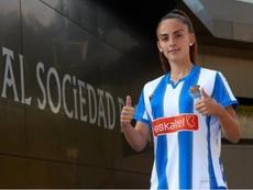 Claudia Roldán se marcha a la Real Sociedad. RealSociedad