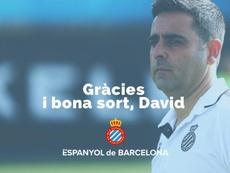 Officiel : L'Espanyol se sépare de son entraîneur. RCDEspanyol