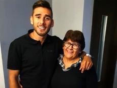 La madre de Salvio espera que Boca gane el título. Instagram/totasalvio