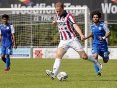El Go Ahead Eagles se adelanta por Elmo Lieftink. Twitter/WillemII