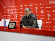 Eloy Jiménez analizó la victoria ante el Dépor. CDeportivoLugo