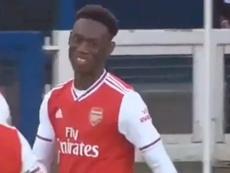 El Arsenal hace oídos sordos a la oferta del Sheffield United por Balogun. Youtube/Arsenal