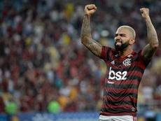 Flamengo quiere quedarse con Gabigol. Twitter/Flamengo