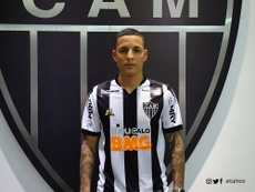 Arana, nuevo jugador de Atlético Mineiro. Twitter/Atletico