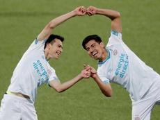Erick Gutiérrez lleva dos goles y una asistencia. PSV