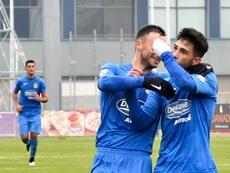 Javi Gómez se va cedido al filial del Celta. Fuenlabrada