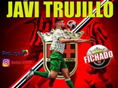 Javi Trujillo, el segundo fichaje. CFUnionViera