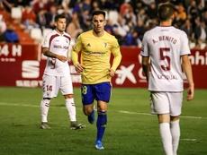 Jurado jugó algunos minutos ante el Albacete. Twitter/CadizCF