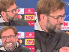 Les excuses de Klopp à un traducteur. Capture/AS