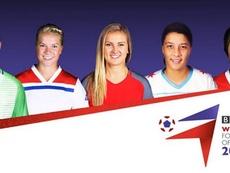 Las cinco candidatas a jugadora del año 2019 por la BBC. BBC