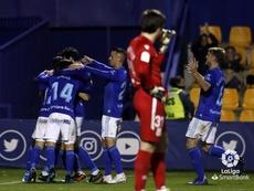 El Oviedo ganó en Santo Domingo. LaLiga