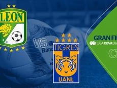 Tigres y León disputarán la gran final del Clausura. Liga BBVA Bancomer