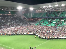 El Saint-Étienne jugará la final contra el PSG. Captura/Twitter/anthonyetienvre