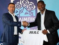 Julio César, ex del Madrid, nuevo técnico del Olimpik Donetsk. Captura/OlimpikDonetsk