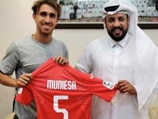 Muniesa llega al fútbol catarí de la mano del Al-Arabi. Al-ArabiSportsClub