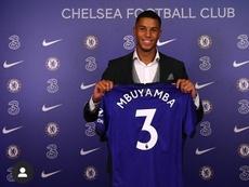 Mbuyamba recordó sus entrenamientos con el Barça. ChelseaFC