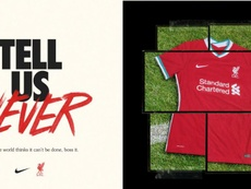 Liverpool have released their new kit. Twitter/LFC